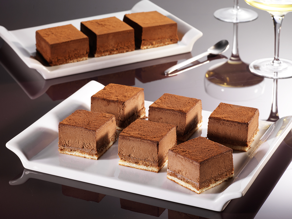 Photo agro-alimentaire entremet choc ambiance